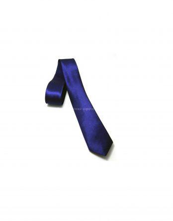 Галстук Classic синего цвета, однотонный