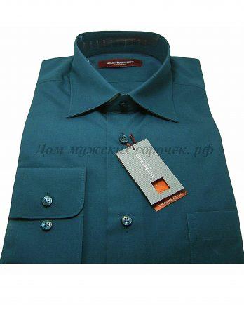 Мужская рубашка темно-зеленая Аллан Ньюманн