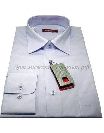 Мужская рубашка Аллан Ньюманн светло-сиреневая