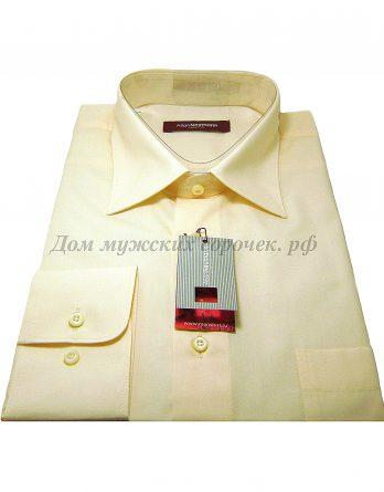 Желтая мужская сорочка Аллан Ньюманн