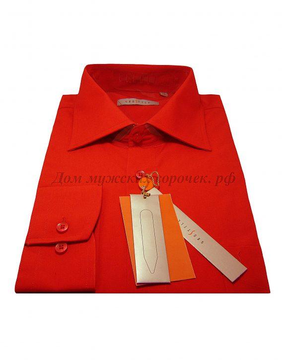 """Красная мужская сорочка в интернет-магазине """"Дом мужских сорочек"""""""