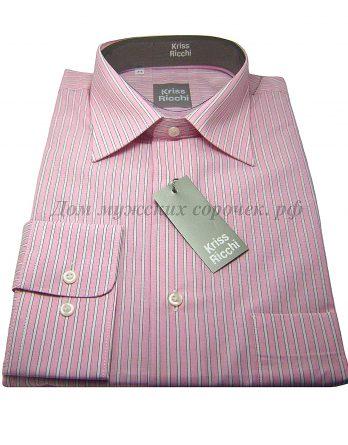 Розовая мужская сорочка
