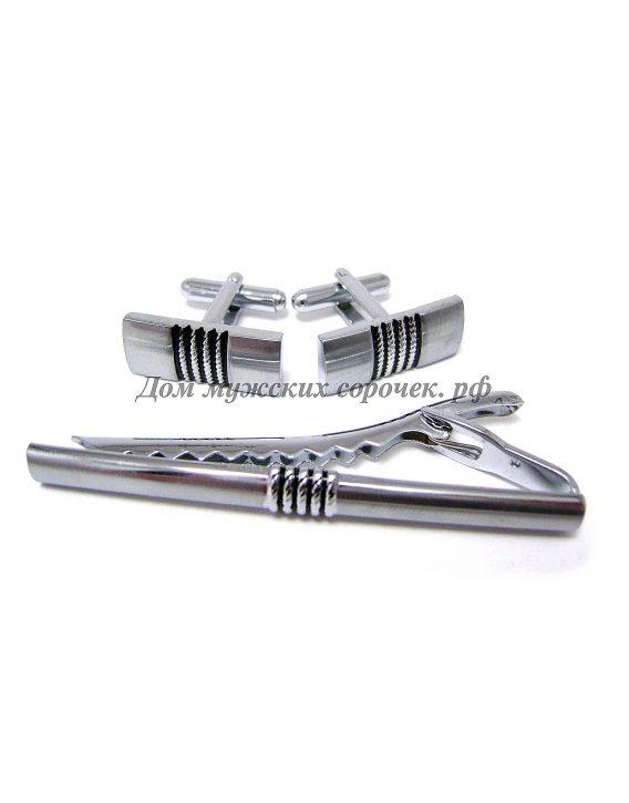 Набор серебристы Classic, прямоугольной формы