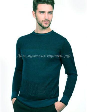 Зеленый свитер, в полоску Гростайл