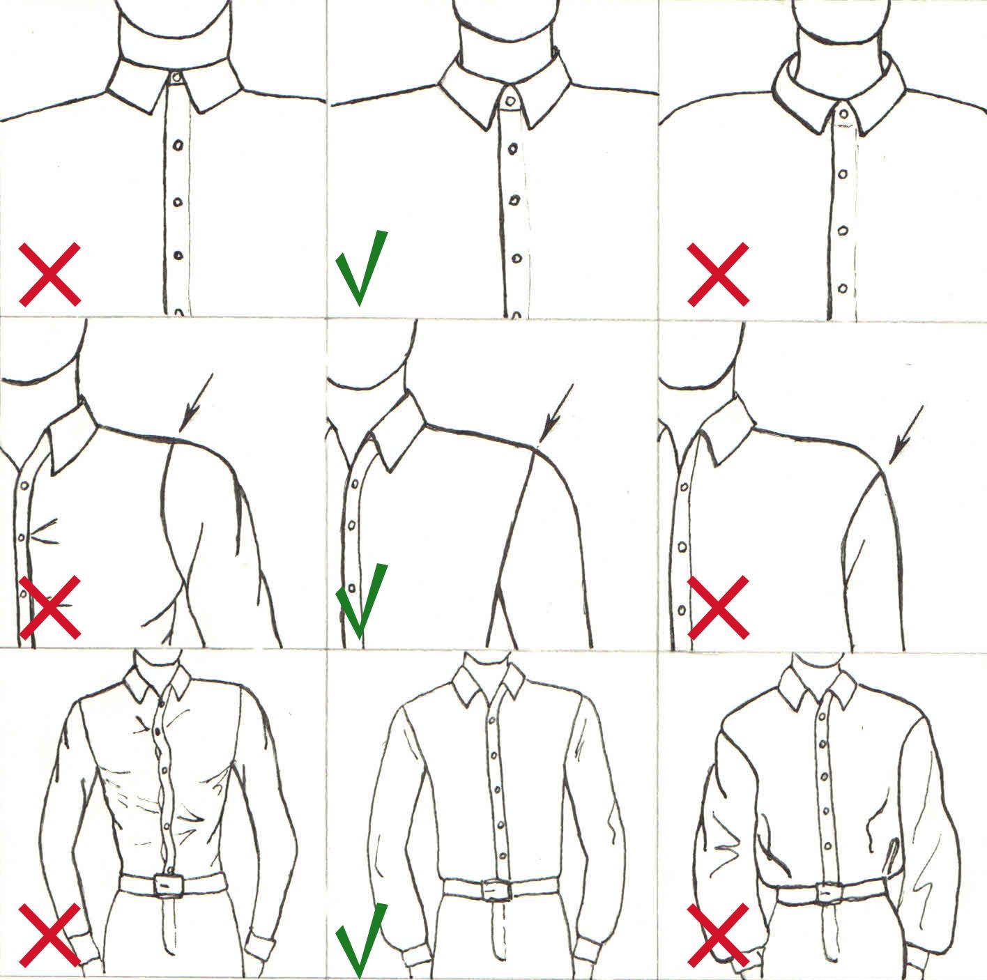 Как сделать рукава рубашки короткими