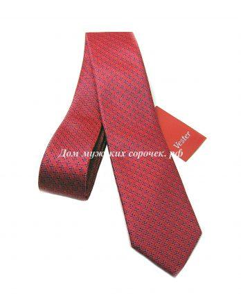 Мужской красный галстук Вестер, с принтом